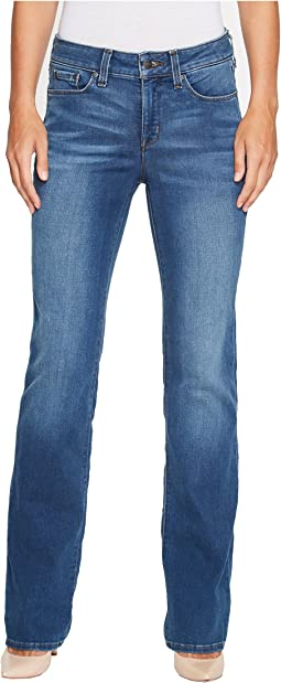 NYDJ Marilyn Straight Jeans in Smart Embrace Denim in Noma
