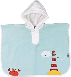 Slumbersac Baby/Toddler Bath Poncho Towel Nautical, 1-3 Years
