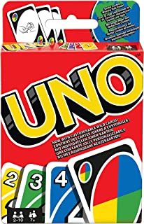 Uno Card Game Display W2087