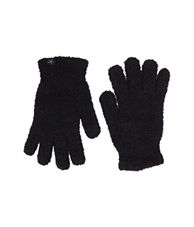 Barefoot Dreams Cozychic Gloves (Black) Snowboard Gloves