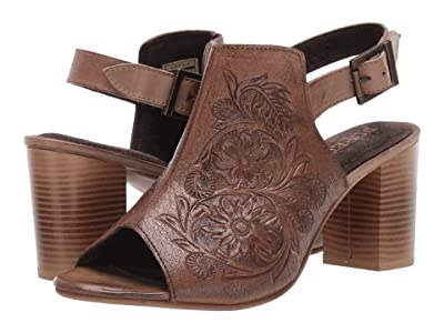 Roper Mika (Beige Floral Tooled Leather) Women