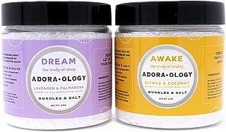 Natural Bubble Bath Epsom Salt (2 Pack Bundle) Premium Bath Salts Infused with Bubbles - Exfoliate and Moisturize Skin - L...