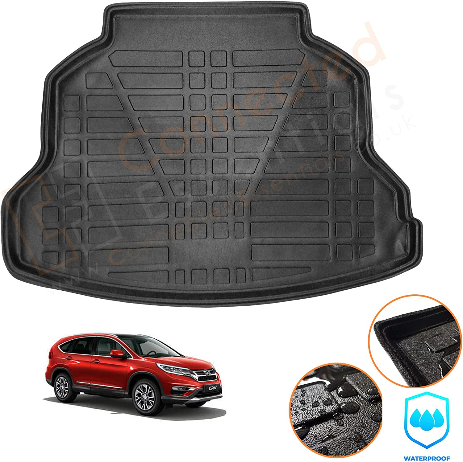 Connected Essentials Special Luxury goods price Moulded Boot Mat Honda Fit CR-V to 2013-201