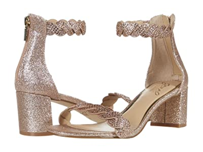 Jewel Badgley Mischka Finna (Rose Gold) Women