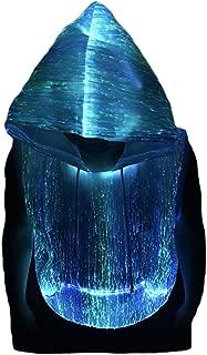 Fiber Optic Sleeveless Hoodie Light up Costume Hoodie Glow in The Dark Hoodie