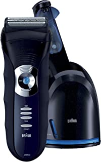Braun 3 Series 350cc-4 Shaver, Black/Blue