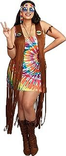 Women's 1960's Tie-Dyed Hippie Hottie Costume