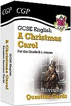 New Grade 9-1 GCSE English - A Christmas Carol Revision Question Cards (CGP GCSE English 9-1 Revision)