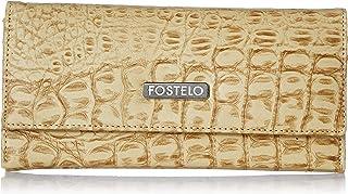 Fostelo Women's Melanie Two Fold Wallet (Beige)
