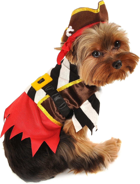 Anit Accessories AP1056S Rustic Pirate Dog Costume