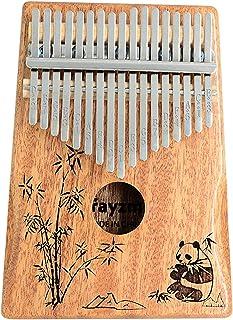 Rayzm Kalimba/Piano à Pouce/Piano tactile avec Accessoires, Instrument Portable Marimba à 17 Touches pour Amateurs de Musi...