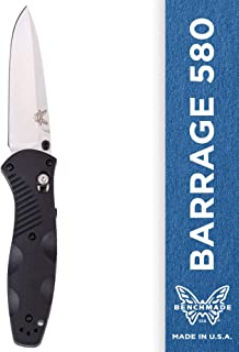 Benchmade - Barrage 580 Knife, Drop-Point Blade