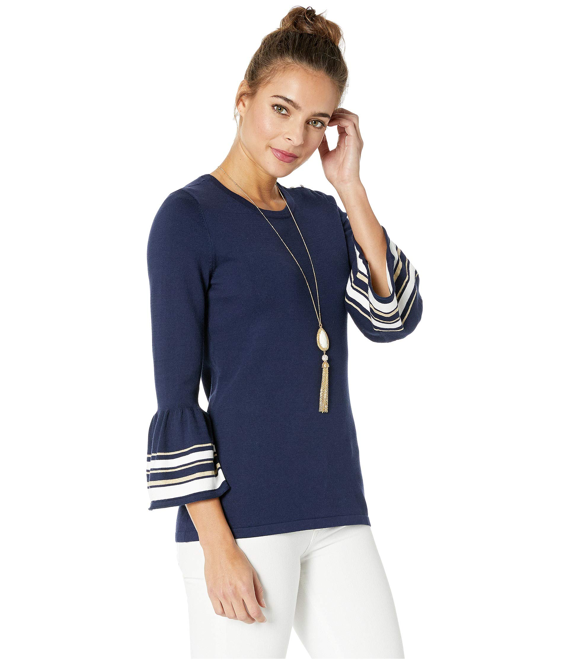 Lilly Sweater Navy Pulitzer True Callee TwTqr