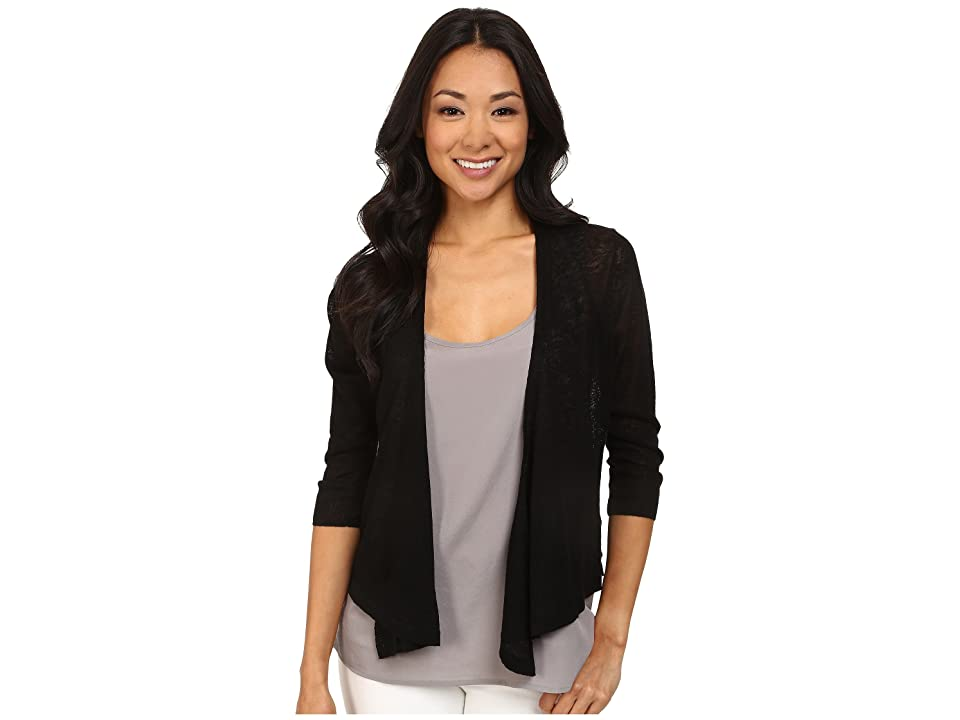 NIC+ZOE Four-Way Cardy (Black Onyx) Women