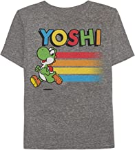 Jumping Beans Boys 4-10 Nintendo Super Mario Bros. Yoshi Heathered Graphic Tee