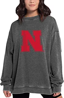 chicka-d NCAA womens Campus Crew Pullover
