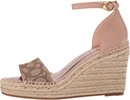 Kit Wedge Espadrille with Signature Jacquard