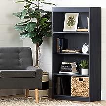 South Shore Axess 4-Shelf Bookcase, Blueberry