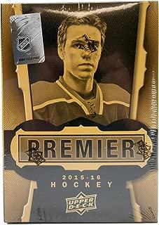 2015/16 Upper Deck Premier NHL Hockey box (7 cards)