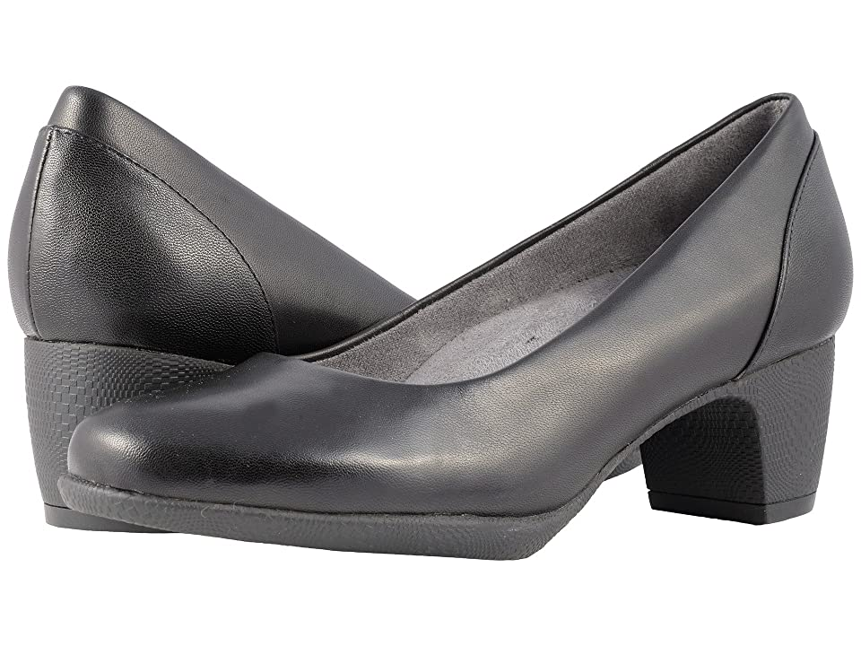 SoftWalk Imperial II (Black Professional Leather) High Heels