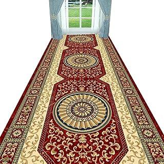 Non-Slip Carpet YANZHEN Hallway Runner Rugs Moisture-Proof Soft Retro Non-Slip 7mm Thick Blended Fibers Entryway Rugs, Mul...