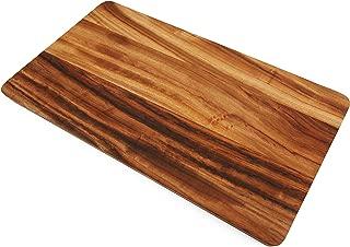 Boumbi Fragrant Camphor Laurel Wood Reversible Cutting Board (13.58x8.26x1 Inches Edge Grain)