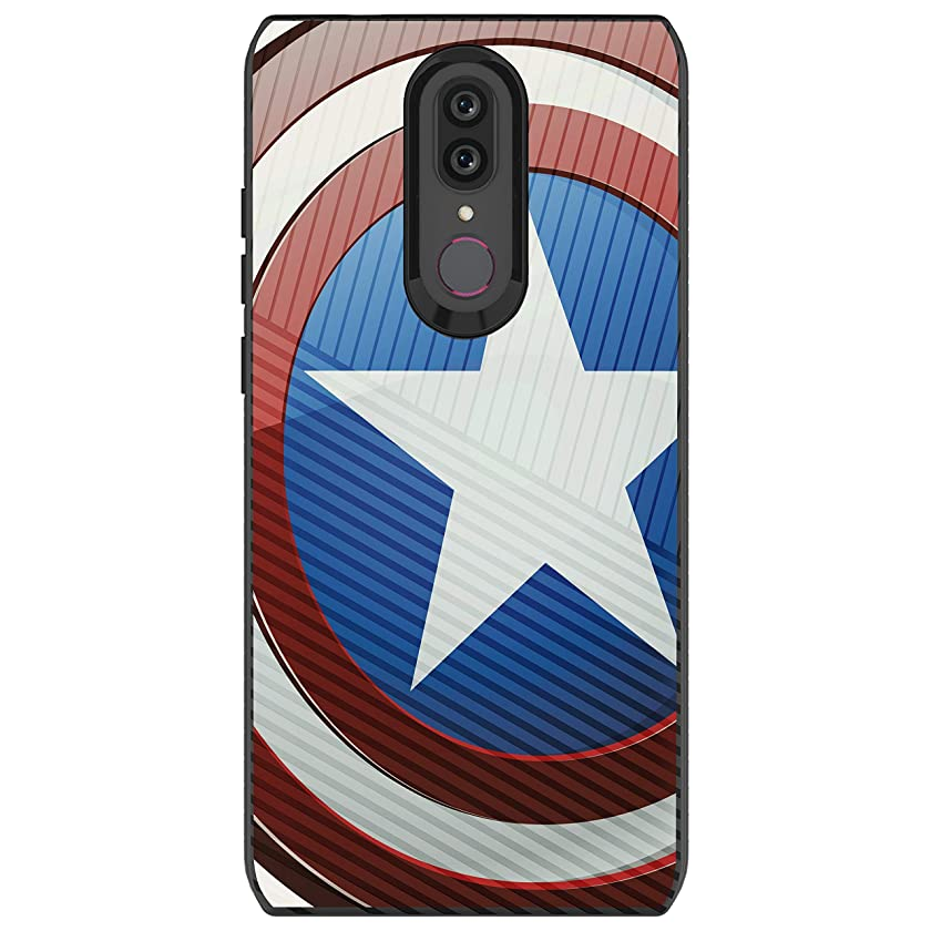 MINITURTLE Compatible with Coolpad Legacy/Coolpad Alchemy Slim Fitted Embossed Texture Protective - America Shield