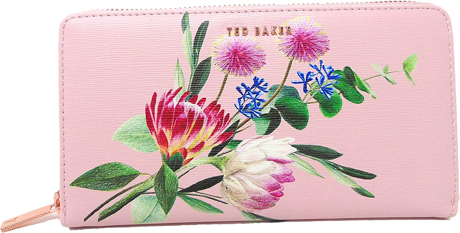 Ted Baker Max 43% OFF Dusky Pink Minal Around Wallet Zip Popular brand in the world Matinee