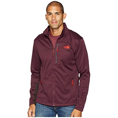 The North Face Canyonlands Full Zip (Fig Heather) Men