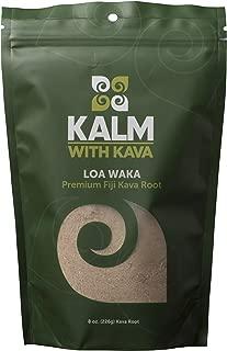 Kava Root - Farm Fresh Fiji Loa Waka 100% Noble Kava (1/2 LB)