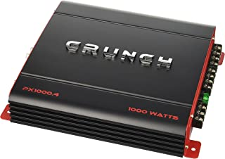 Crunch PX1000.4 Power Amplifier (Class Ab, 4 Channels,...