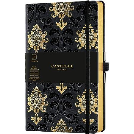 カステリミラノ ノート M 横罫 COPPER&GOLD CASTELLI MILANO (BAROQUE GOLD)