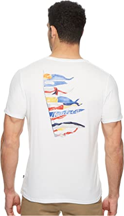 Nautica - Short Sleeve Sail Flags Crew