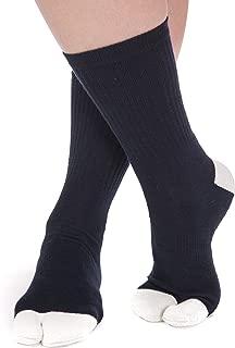 V-Toe Flip-Flop Socks - Solids, Stripes and Patterns Kids, Adults, Girls, Boys Fun Tabi Flip Flop Socks
