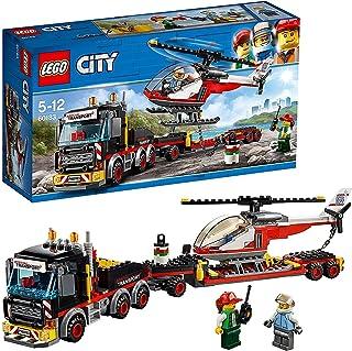 レゴ(LEGO) シティ 巨大貨物輸送車とヘリコプター 60183 ブロック おもちゃ 男の子