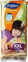 Drypers Drypantz Diapers, XXL (15-25kg), 28ct (Pack of 4)