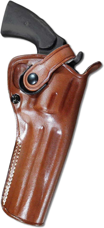 蔵 Premium Leather Three 代引き不可 Slots Belt Fi Holster Retention Strap with