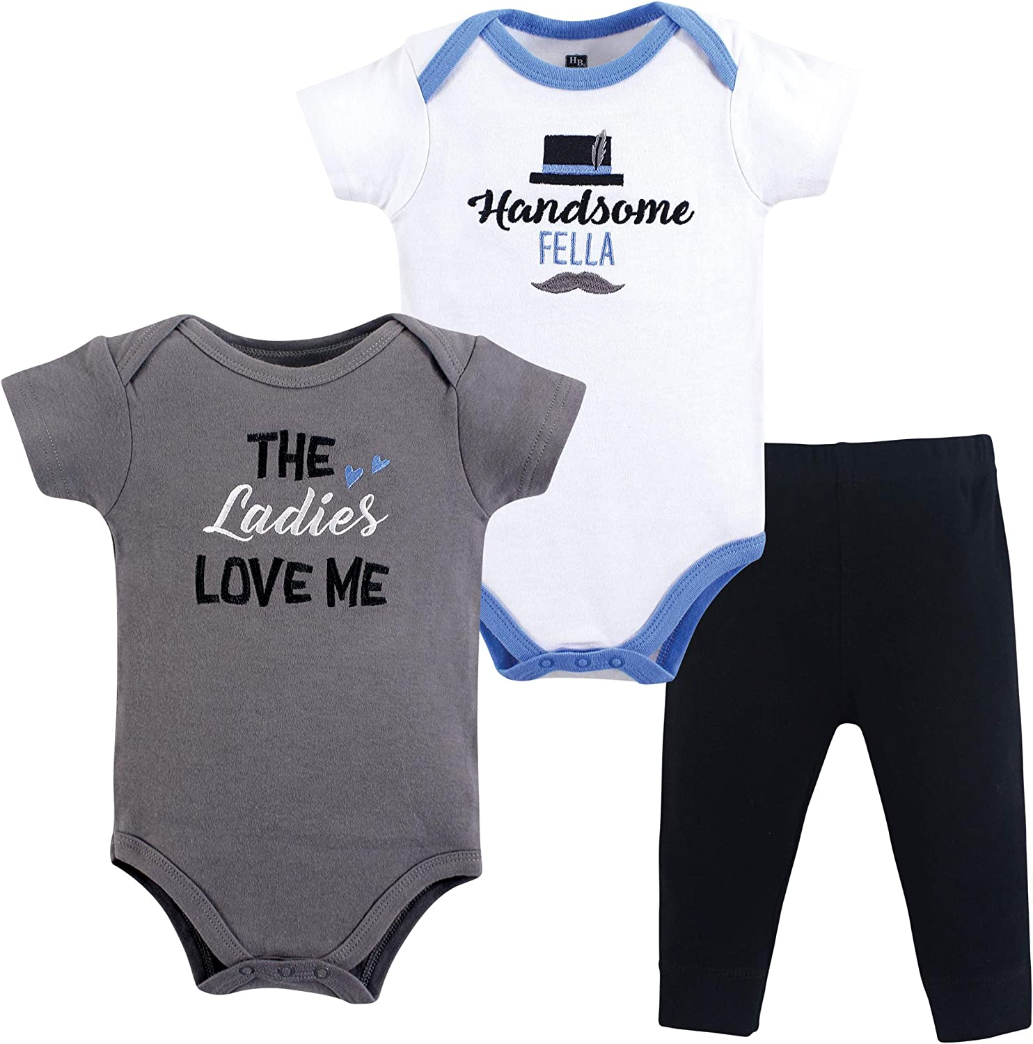 Hudson Baby Cheap SALE Start Unisex A surprise price is realized Cotton Pant and Bodysuit Set