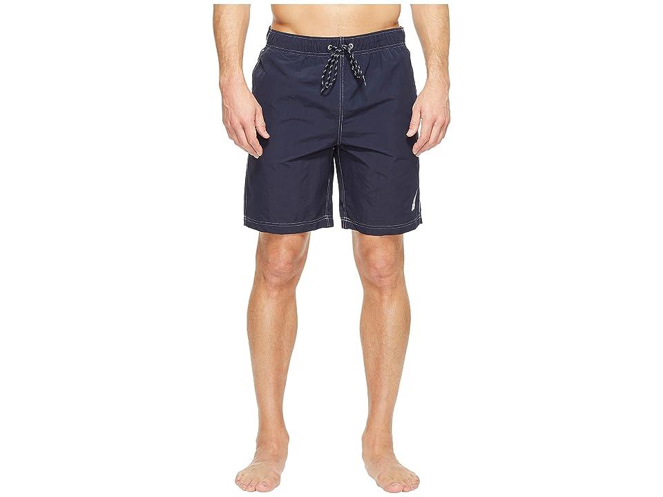 Nautica New Anchor Swim Trunk (Navy) Men
