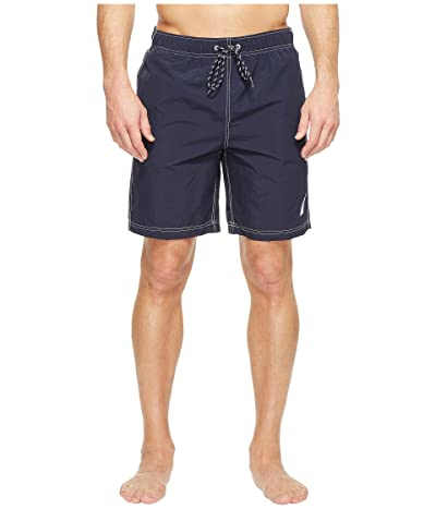 Nautica New Anchor Swim Trunk (Navy) Men