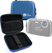 DURAGADGET Hard Shell EVA Box-Style Case in Blue - Suitable for The Fujifilm FinePix XP130 & XP140 Compact Digital Cameras