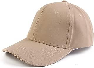 Melesh Cotton Baseball Cap Women Men Classic Adjustable Plain Hat