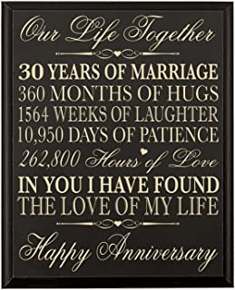Best 30th anniversary gift for husband Reviews