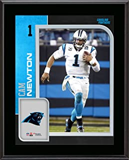 Cam Newton Carolina Panthers 10.5'' x 13'' Sublimated Player Plaque - NFL Player Plaques and Collages