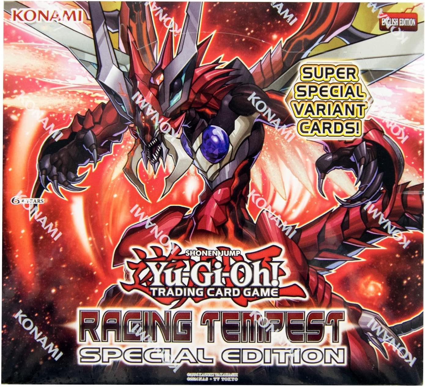 Factory Sealed Raging Tempest Special Edition Display Yugioh