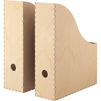 IKEA FLYT – Revistero archivador, color blanco: Amazon.es: Oficina y papelería