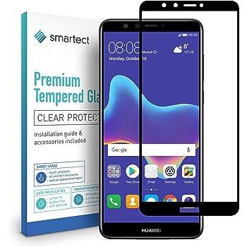 smartect Cristal Templado para Móvil Huawei Y9 2018 [Full Screen ...
