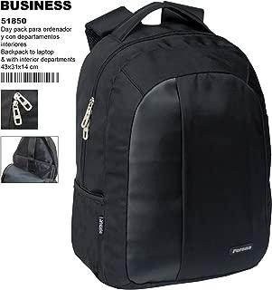 51850 Business Mochila Escolar, 44 cm, Negro