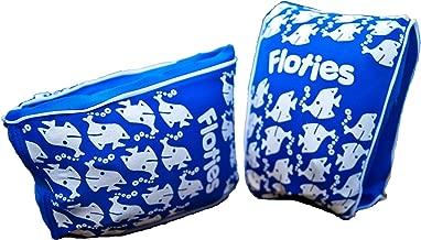Boys Floatsafe Flotie Soft Fabric Armbands Floatie Blue For Kids Ages 1 To 3
