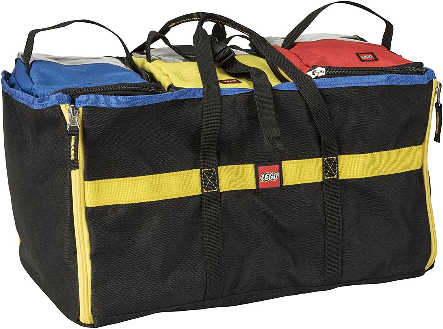 LEGO 4Piece Tote and Play Mat, Multi